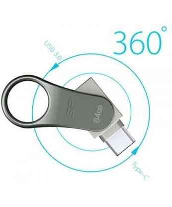 تصویر فلش مموری Silicon Power C80 USB3.0 OTG Type C 32GB