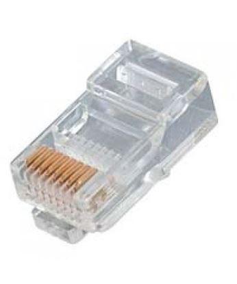 تصویر 100 عدد سوکت شبکه Cat5 D-Net