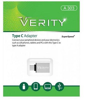 تصویر تبدیل Otg Verity Type C  A303
