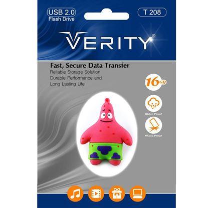 تصویر فلش مموری عروسکی  Verity  T208   8GB