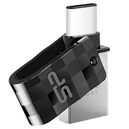تصویر فلش مموری Silicon Power Mobile OTG  C31  USB3   16G