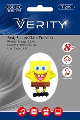 تصویر فلش مموری عروسکی  Verity  T209   8GB