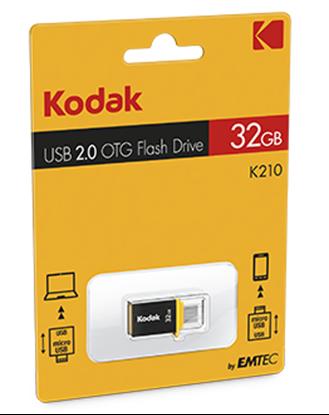 تصویر فلش مموری Kodak  K210   OTG    16GB