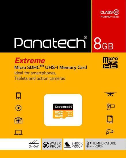 تصویر Micro SD Panatech 8G C10 U1
